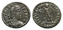 Ancient Coins - Valens (364-378). Æ - Arelate - R/ Victory