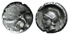 Ancient Coins - Cilicia, Uncertain, c. 4th century BC. AR Tetartemorion