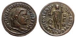 Ancient Coins - Constantine I (307/310-337). Æ Follis - Alexandria - R/ Jupiter
