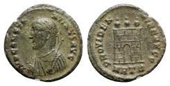 Ancient Coins - Constantine II (Caesar, 316-337). Æ Follis - Heraclea