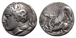 Ancient Coins - Northern Lucania, Velia, c. 440/35-400 BC. AR Didrachm - RARE