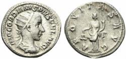 Ancient Coins - Gordian III (238-244). AR Antoninianus. Rome, 239-40.  R/ AEQUITAS