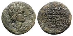 Ancient Coins - Mysia, Kyzikos. Pseudo-autonomous issue, 3rd century AD. Æ - Apollonidos, strategos