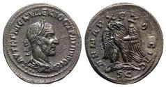 Ancient Coins - Trajan Decius (249-251). Seleucis and Pieria, Antioch. AR Tetradrachm
