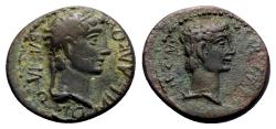 Ancient Coins - Kings of Thrace, Rhoemetalkes I and Augustus (11 BC-12 AD). Æ
