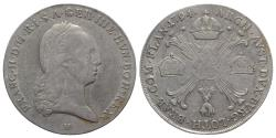 World Coins - Holy Roman Empire,, Franz II (1792-1804). AR Kronentaler 1794, H Günzburg