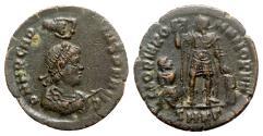 Ancient Coins - Arcadius (383-408). Æ - Cyzicus