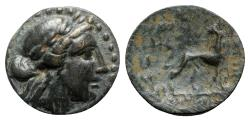 Ancient Coins - Ionia, Miletos, 2nd century BC. Æ
