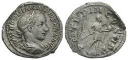 Ancient Coins - Gordian III (238-244). AR Denarius. Rome, AD 240.