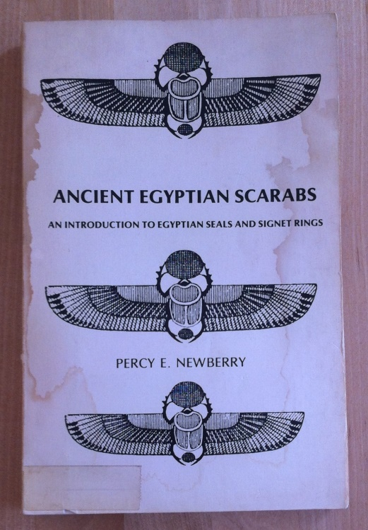 Ancient Coins - Percy E. Newberry  - Ancient Egyptian Scarabs and Introduction to Egyptian Seals and Signet Rings