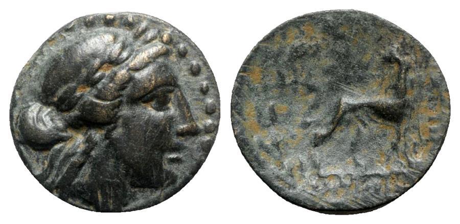 Ancient Coins - Ionia, Miletos, 2nd century BC. Æ