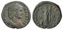 Ancient Coins - Galeria Valeria. Augusta, AD 293(?)-311. Æ Follis. Antioch mint, 8th officina. Struck under Galerius, AD 310-311. R/ VENUS