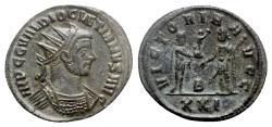 Ancient Coins - Diocletian (284-305). Radiate - Siscia