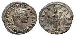 Ancient Coins - Probus (276-282). Radiate / Antoninianus - Lugdunum - R/ Providentia