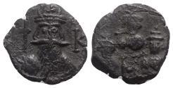 Ancient Coins - Constans II (641-668). Æ 40 Nummi - Constantinople