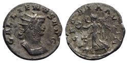 Ancient Coins - Gallienus (253-268). Antoninianus - Mediolanum - R/ Victory