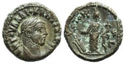 Ancient Coins - Diocletian (284-305). Egypt, Alexandria. BI Tetradrachm, year 3 (286/7). R/ Tyche