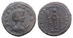 Ancient Coins - Severina (Augusta, 270-275). Antoninianus. Antioch, AD 275. R/ FIDES