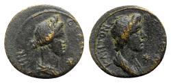 Ancient Coins - Mysia, Pergamum, c. AD 40-60. Æ - Senate / Rome