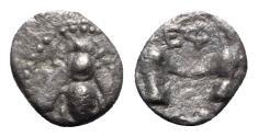 Ancient Coins - Ionia, Ephesos, c. 390-325 BC. AR Diobol