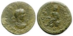 Ancient Coins - Gallienus (253-268). Pamphylia, Side. Æ 10 Assaria