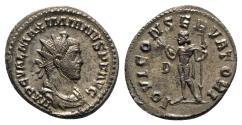 Ancient Coins - Maximianus (286-305). Radiate / Antoninianus - Lugdunum - R/ Jupiter