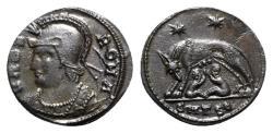 Ancient Coins - Commemorative Series, 330-354. Æ Follis - Thessalonica
