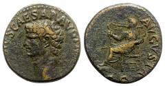 Ancient Coins - Claudius (41-54). Æ Dupondius - Rome - R/ Ceres