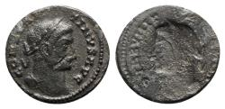 Ancient Coins - Constantine I (307/310-337). Brockage Æ 19mm  Incuse of the obverse