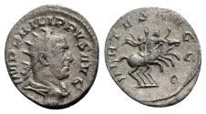 Ancient Coins - Philip I (244-249). AR Antoninianus - Rome