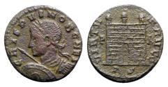 Ancient Coins - Crispus (Caesar, 316-326). Æ Follis - Rome - RARE