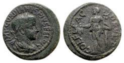 Ancient Coins - Gordian III (238-244). Thrace, Deultum. Æ - R/ Mercury/Hermes
