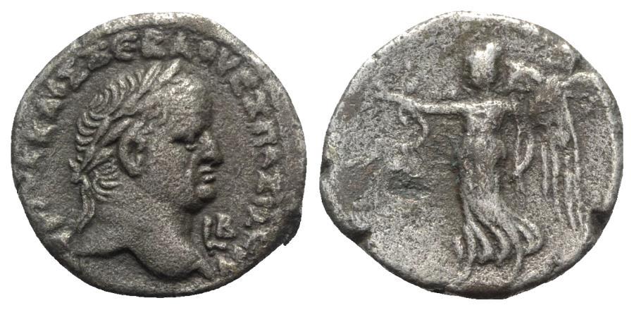 Ancient Coins - Vespasian (69-79). Egypt, Alexandria. BI Tetradrachm - year 2