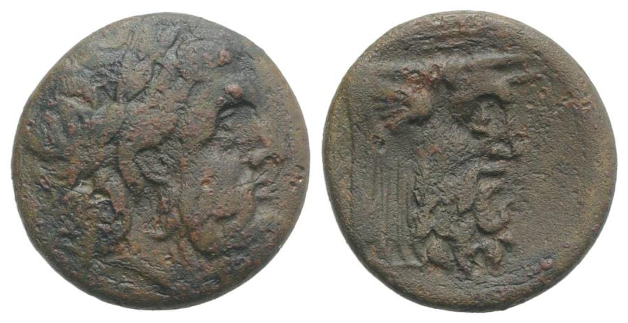Ancient Coins - Akarnania, The Oiniadai, c. 219-211 BC. Æ 20mm