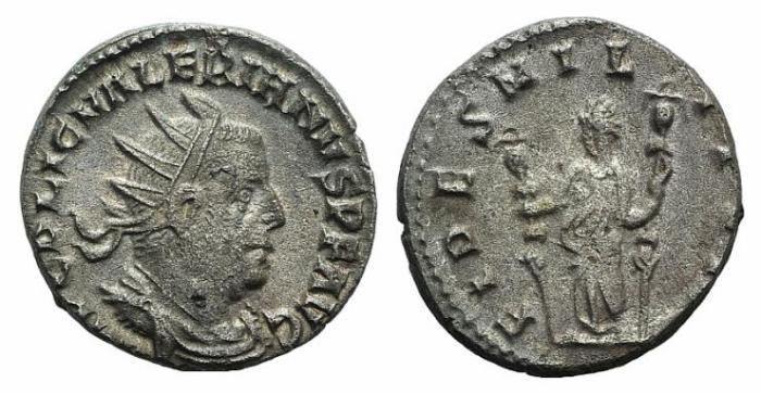 Ancient Coins - Valerian I. AD 253-260. AR Antoninianus / Fides
