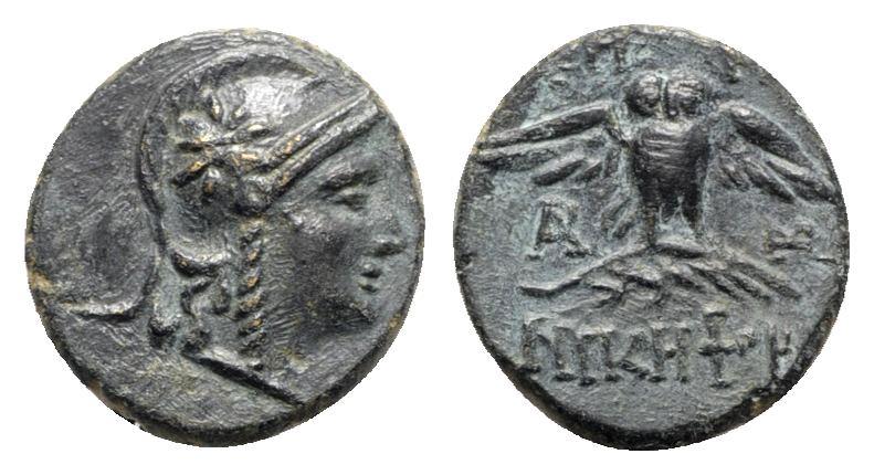 Ancient Coins - Mysia, Pergamon, c. 133-27 BC. Æ