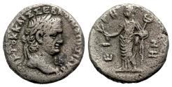 Ancient Coins - Vespasian (69-79). Egypt, Alexandria. BI Tetradrachm - year 2 - R/ Eirene