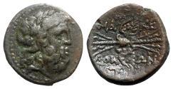 Ancient Coins - Macedon, Autonomous Issues, c. 185-168 BC. Æ - Zeus / Thunderbolt