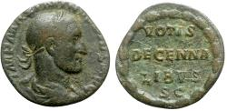 Ancient Coins - Maximinus I (235-238). Æ As - Rome - R/ Legend in wreath