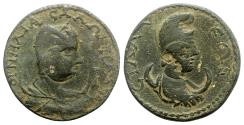 Ancient Coins - Salonina (Augusta, 254-268). Pamphylia, Sillyum. Æ 10 Assaria
