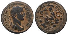 Ancient Coins - Severus Alexander (222-235). Pisidia, Antioch. Æ 31mm. R/ Tyche
