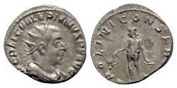 Ancient Coins - Valerian I (253-260). Antoninianus - Rome - R/ Apollo