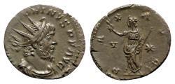 Ancient Coins - Victorinus (269-271). Radiate - Treveri - R/ Pax