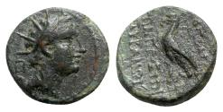 Ancient Coins - Seleukid Kings, Antiochos IV Epiphanes (175-164 BC). Æ - Hierapolis on the Pyramos (Kastabala)