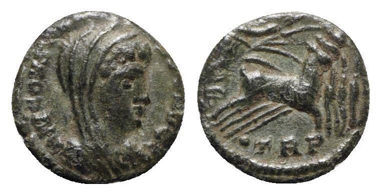 Ancient Coins - Divus Constantine I (died 337). Æ - Treveri