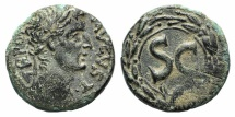 Ancient Coins - Augustus (27 BC-AD 14). Seleucis and Pieria, Antioch. Æ 21mm