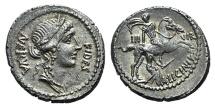 A. Licinius Nerva, Rome, c. 47 BC, AR Denarius
