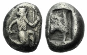 Ancient Coins - Achaemenid Empire, time of Xerxes II to Artaxerxes II, c. 420-375 BC. AR Siglos