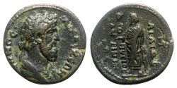 Ancient Coins - Phrygia, Laodicea ad Lycum. Pseudo-autonomous issue, c. 138-161. Æ - . Aelius Dionysius Sabinianus, magistrate