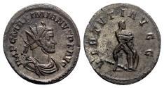 Ancient Coins - Maximianus (286-305). Radiate - Lugdunum - R/ Hercules